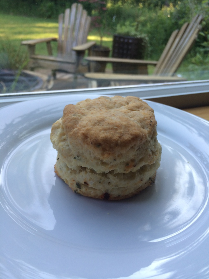 My a sage and red pepper biscuit version