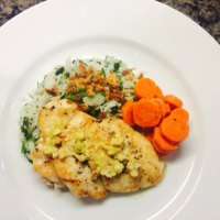 Lemongrass Ginger Chicken with Rice Palou & Ginger-infused Carrots